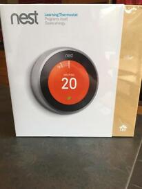 Nest 3rd generation thermostat new in sealed box