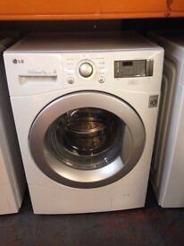 LG 7KG WASHING MACHINE WHITE RECONDITIONED