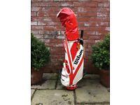Wilson Daley golf club set including trolley, ideal Christmas present