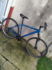 Mens CUBE electronic Blue Bike