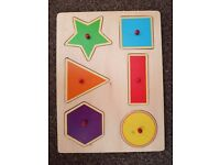 Puzzles wooden