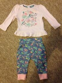 9-12 months mini club outfit