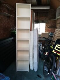 Tall billy bookcase with extension