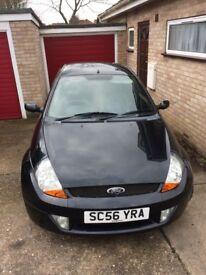 Ford KA - Black, Good Condition