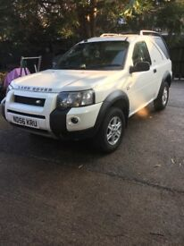 Freelander dog van 2006 reg 12 months mot drives excellent no faults good tyres all round