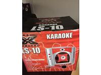 2 karaokes new for sale cheap great for parties with songs