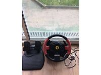 Thrustmaster T150 Ferrari edition| for PlayStation 3/4 and PC