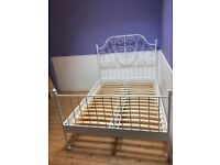 Ikea leirvik double bed