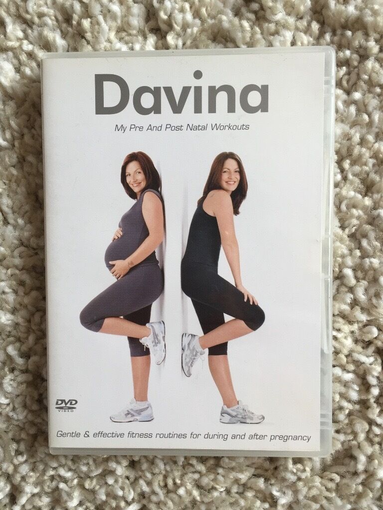 Davina pre and post pregnancy workout DVD 1635 in Lincoln  : 86 from www.gumtree.com size 768 x 1024 jpeg 130kB