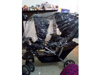 double buggy . Graco, Double pushchair