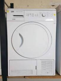 BEKO 8KG CONDENSER DRYER **3 MONTHS GUARANTEE FREE LOCAL DELIVERY**