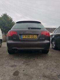 Audi A4 S-line 2008 ,101000 miles