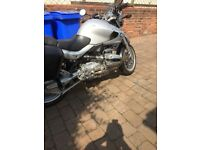 Bmw r850r built proof boxer engine full luggage Bmw