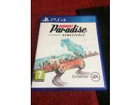 Burnout ps4