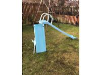 Kids slide with extension