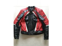 RST Motorbike Motorcycle Leather Jacket