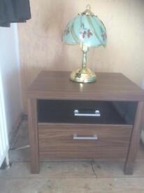 Harvey's Prague, 2 Drawer bedside cabinet.