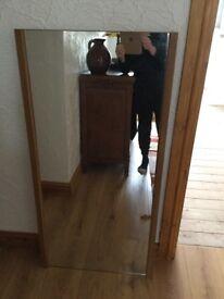 Large mirror. 60 x 120cm.