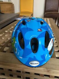 Little boys bike helmet