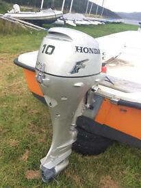Honda 2010 4 stroke outboard