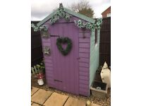 6x4 garden shed