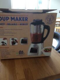 Hairy Bikers Soup Maker - heavy duty glass and fully automatic. Still in box unused.