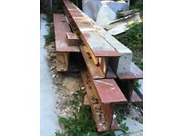 RSJ lintel steel Girders H beams