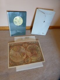 Readers Digest. Great World Atlas (book) Complete with original box and map of the world.Emaculate.