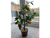 Orange Tree in pot - artificial - 24 inches tall