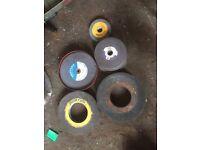 Metal grinding discs