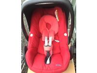 Maxi cosi pebble car seat and isofix anchor (Gone Pending Collection)