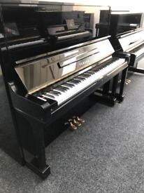 Yamaha U3 Upright Piano SUMMER SALE REDUCED Black with 3 Year Warranty & stool