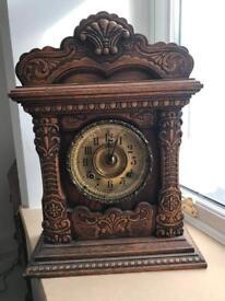 American gingerbread clock