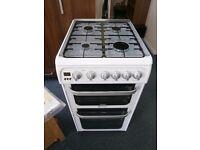 Hotpoint HUG52P Gas Cooker.