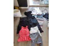 bundle of ladies clothes