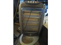 Halogen electric heater up to 1200w