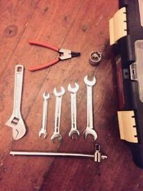 Bargain starter tool box and tools