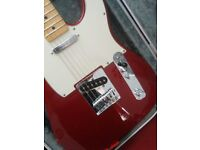 FENDER Telecaster Mexican- CANDY APPLE RED