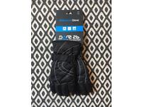 Pair of Black Ski Gloves - Size 6-7 (small ladies/children)