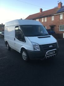 Ford transit 57 plate swb semi hi top bargain may px bigger van£1395