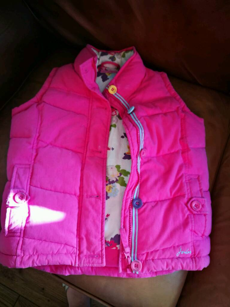 Joules body warmer girls age 5