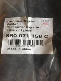 Genuine Audi roofbar carrier bag