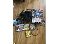 Play Station 2 with 3 Controllers and 27 Games with 4 Demos Games and 5 Memory Cards