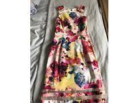 Warehouse Size 10 dress