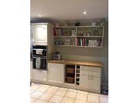 Kitchen Units both wall and base, dishwasher, sink & Electric Hob