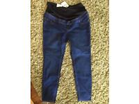 New LOOK maternity overbump jegging size 16