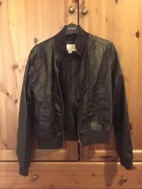 Faux Leather Jacket (Women's)