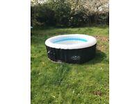 Used Lazyspa Miami hot tub with pump