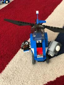 Lego Jurassic Park helicopter