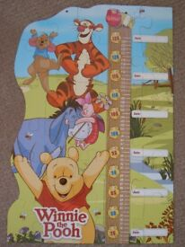Winnie the Pooh grow chart puzzle